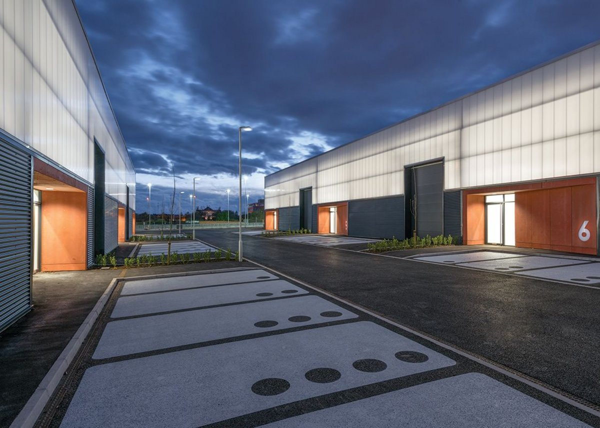 The Lightbox by Sixtwo in Birkenhead is 20,000ft² of warehouse and industrial accommodation.