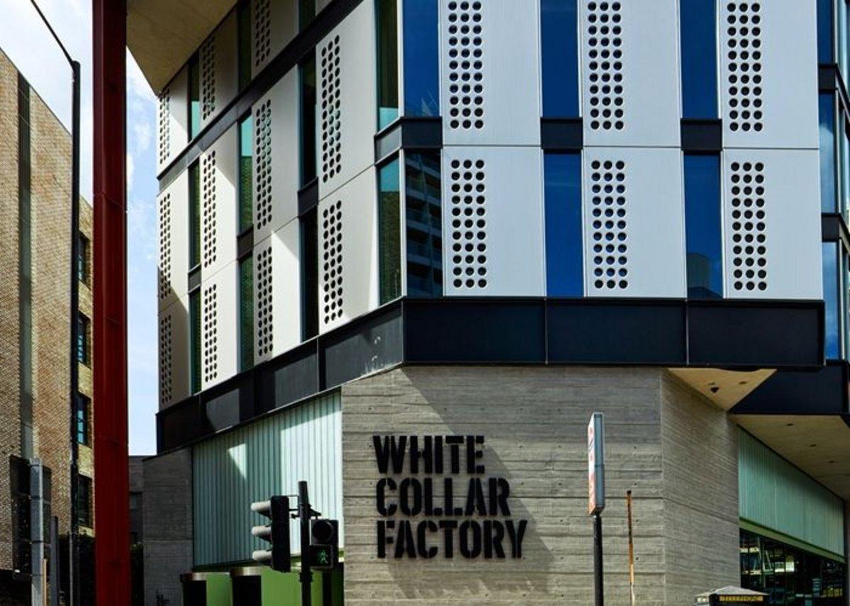 White Collar Factory.