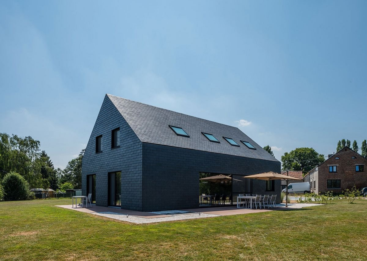 Cupaclad 101 Logic, Maison Bini private residence, Forville, Belgium.