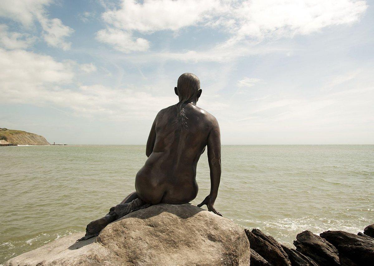 Cornelia Parker, The Folkestone Mermaid, Folkestone Triennial 2011.