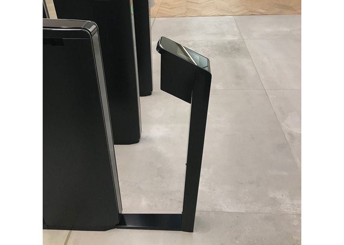 Boon Edam Lifeline Boost is a pedestal that enables card readers, barcode scanners and biometric devices to be integrated with existing security gate turnstiles.