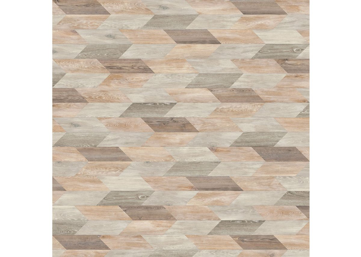 Shale: Arrow laying pattern with White Wash Wood, Limed Grey Wood, Lime Washed Wood and Parisian Pine.