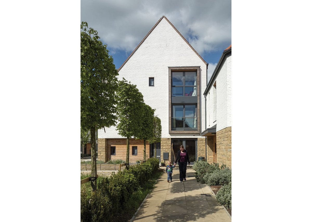 Derwenthorpe Phase One housing, York by Studio Partington.