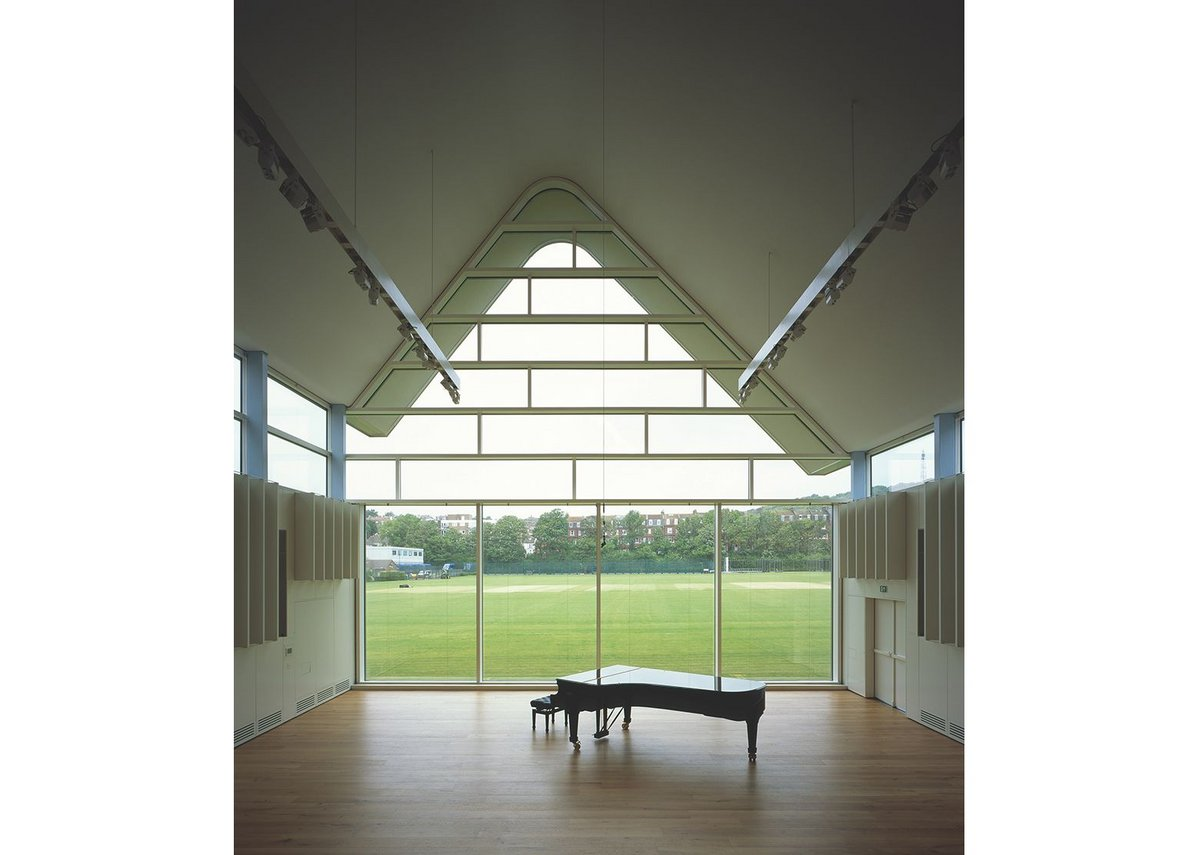 Brighton College Music School, Eric Parry Architects.