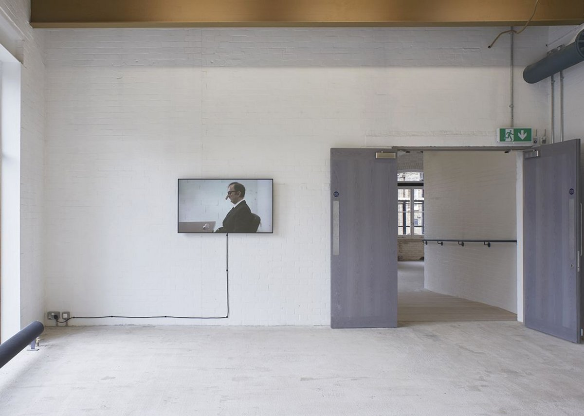 Installation view, Mika Rottenberg.