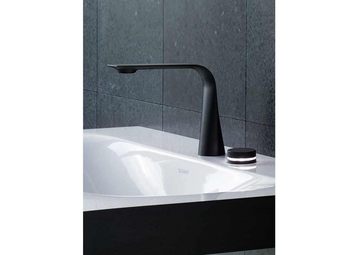Available in Black Matt or Chrome, the D.1 range brings contemporary styling to bathrooms.