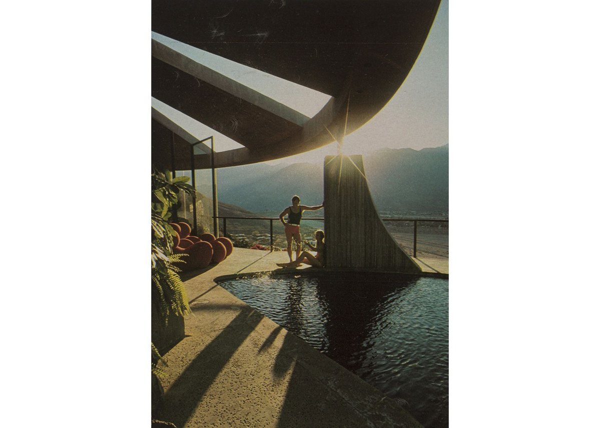 Elrod House by John Lautner, Playboy Magazine, November 1971.