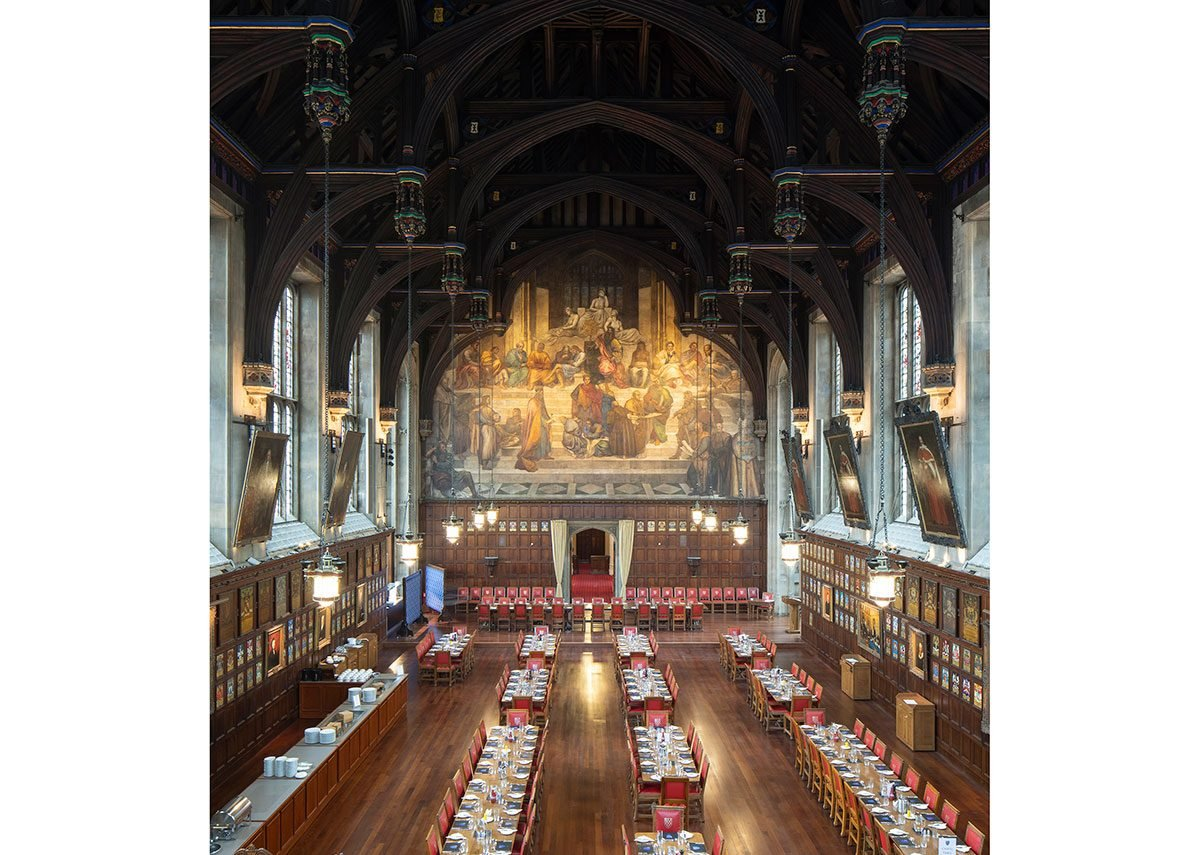 Lincoln's Inn Great Hall and Library.