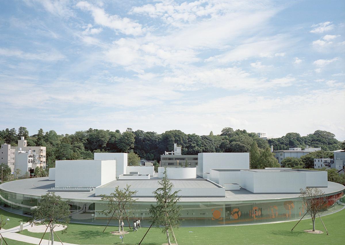21st Century Museum of Contemporary Art, Kanazawa, Japan, designed by SANAA.