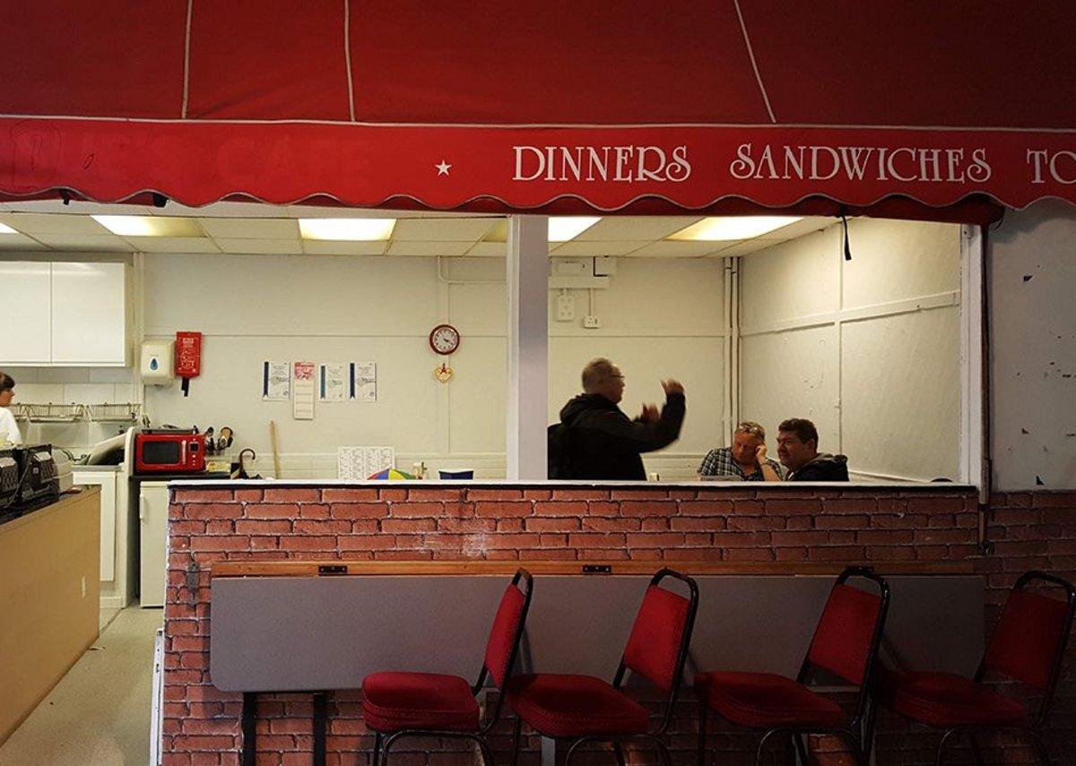 Newport Market diner.