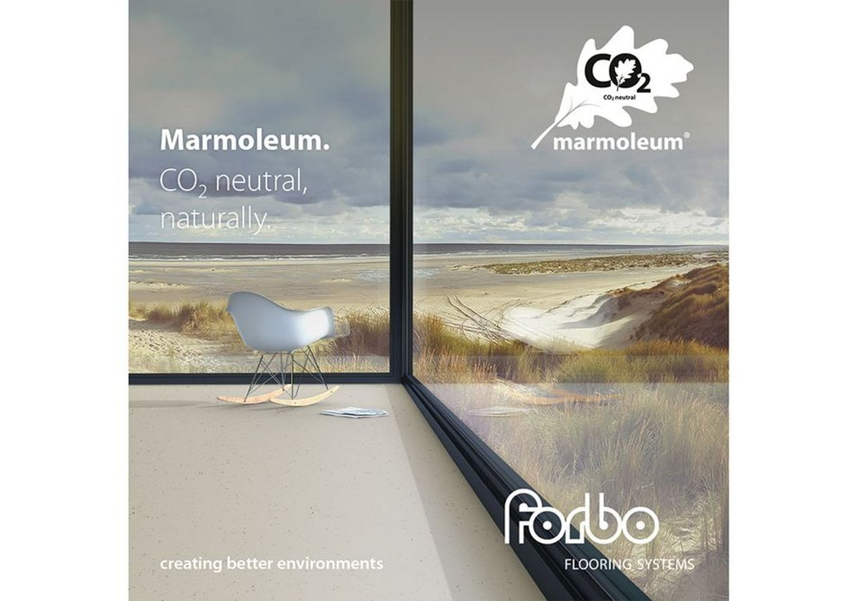 Forbo Carbon Neutral Marmoleum Flooring Ribaj