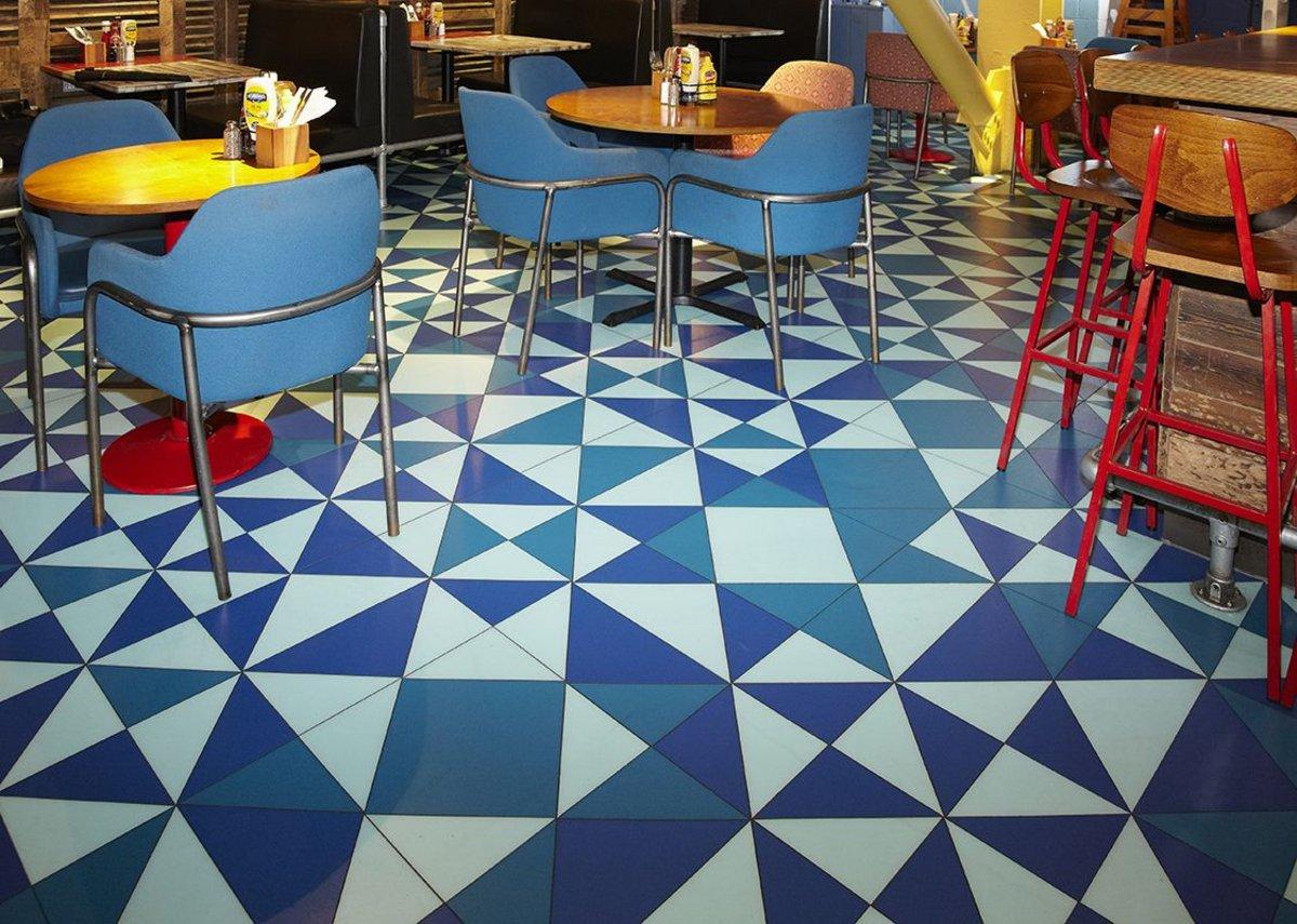 LVT for funky flooring | RIBAJ