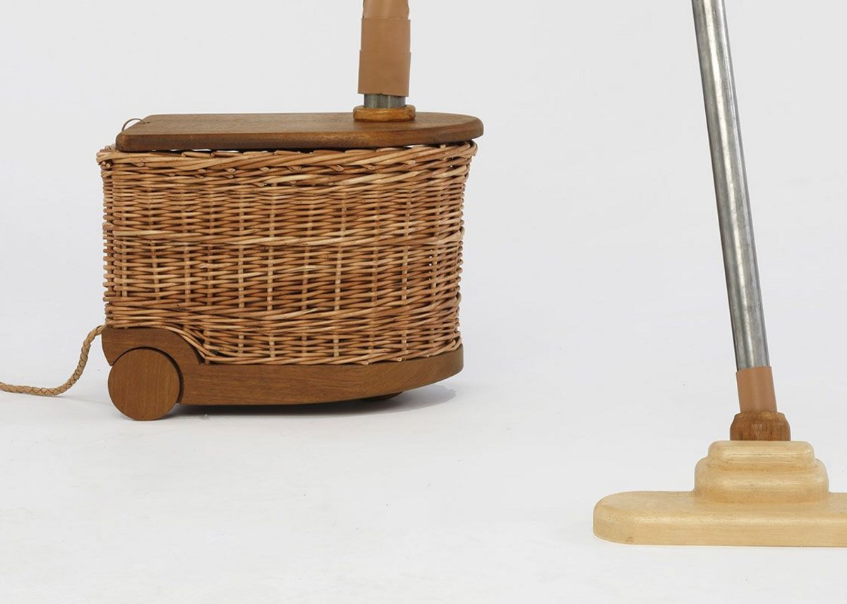 Crafting Industry by Eunhye Ko used willow and ceramics to challenge consumer perceptions of household technology.