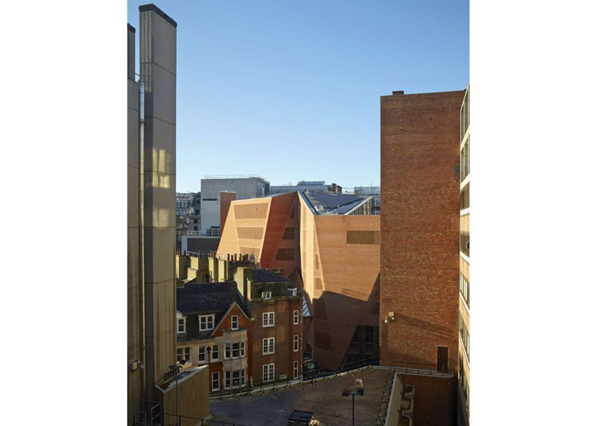 Saw Swee Hock Student Centre at the LSE Stirling shortlisted 2014.