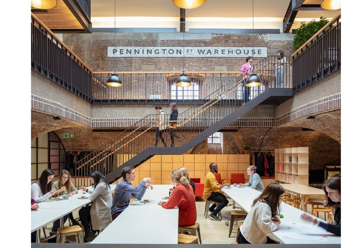 Pennington Street Warehouse.