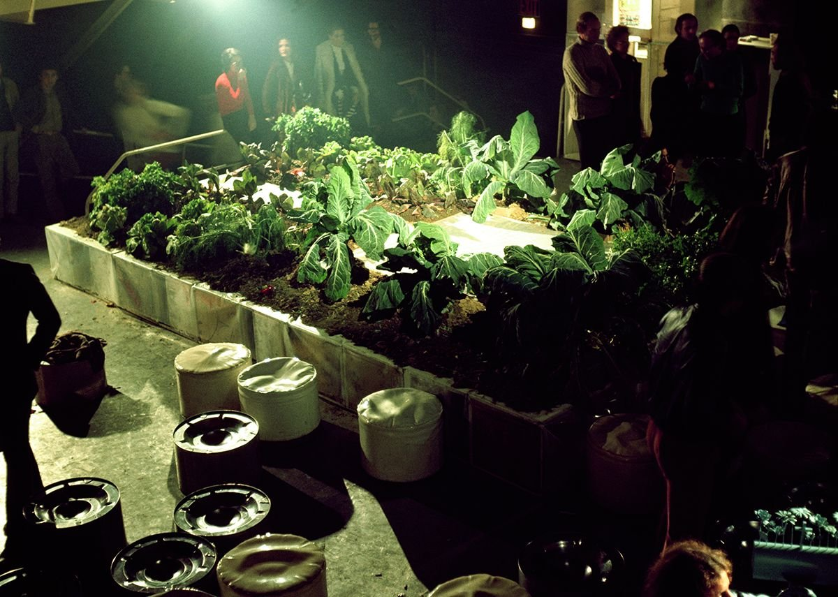 Gruppo 9999, prototype for the Vegetable Garden House at the Mondial Festival, Space Electronic, Florence, 1971. Gruppo 9999, courtesy of Carlo Caldini.