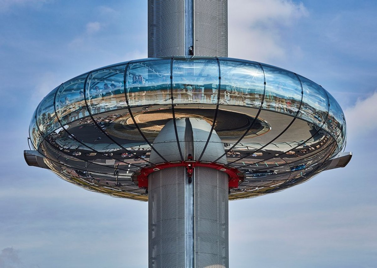 British Airways i360 by Marks Barfield Architects.