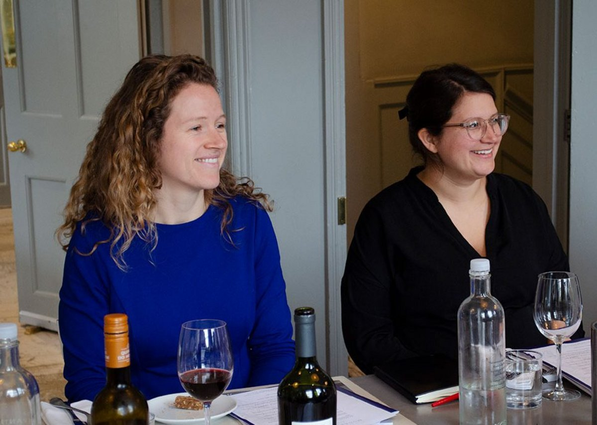 From left: Scott Brownrigg associate Felicity Meares and Populous associate Maria Knutsson-Hall.
