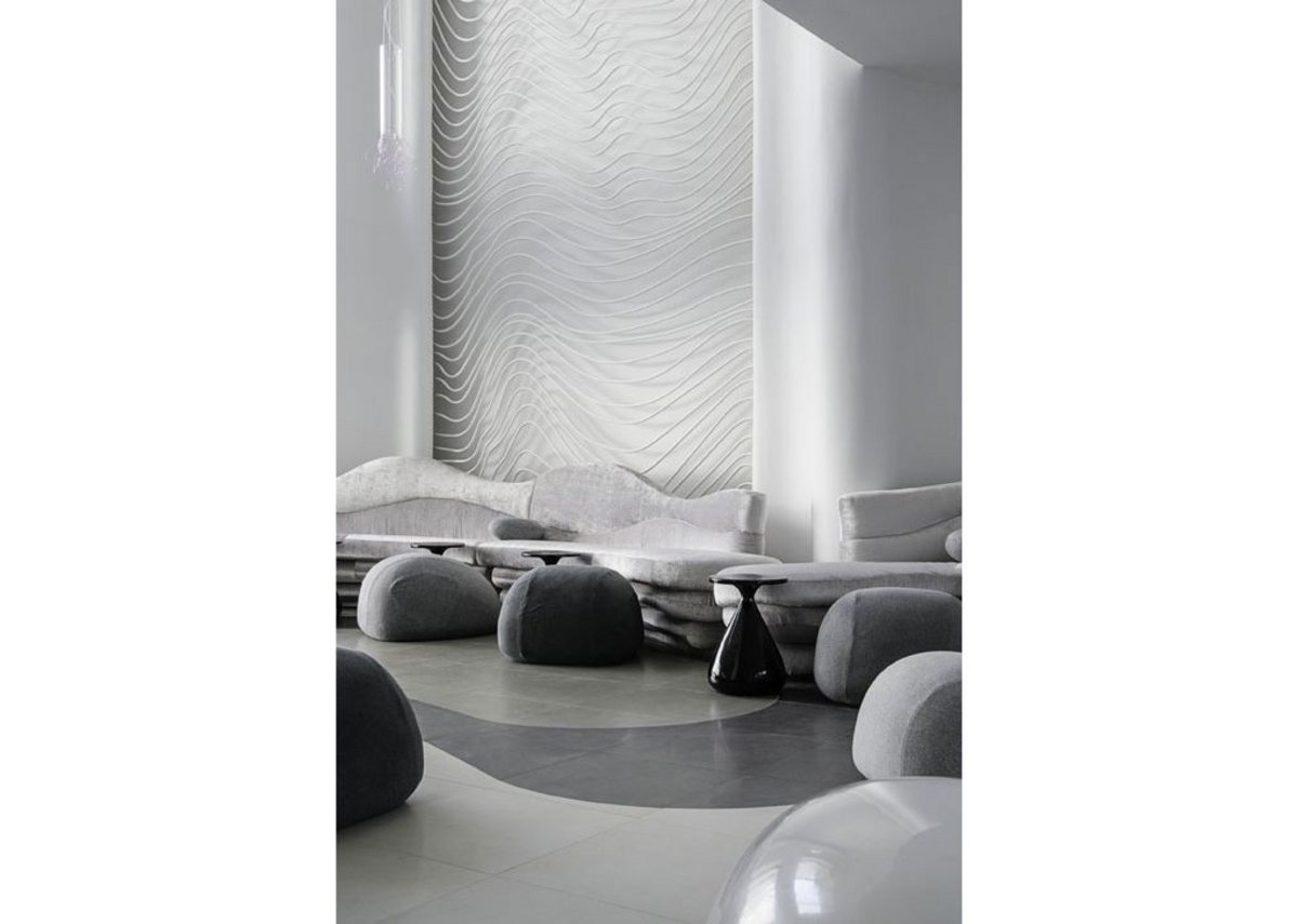 Customised Aparici tiles were specified for the 5-star Baystone Boutique Hotel www.aparici.com