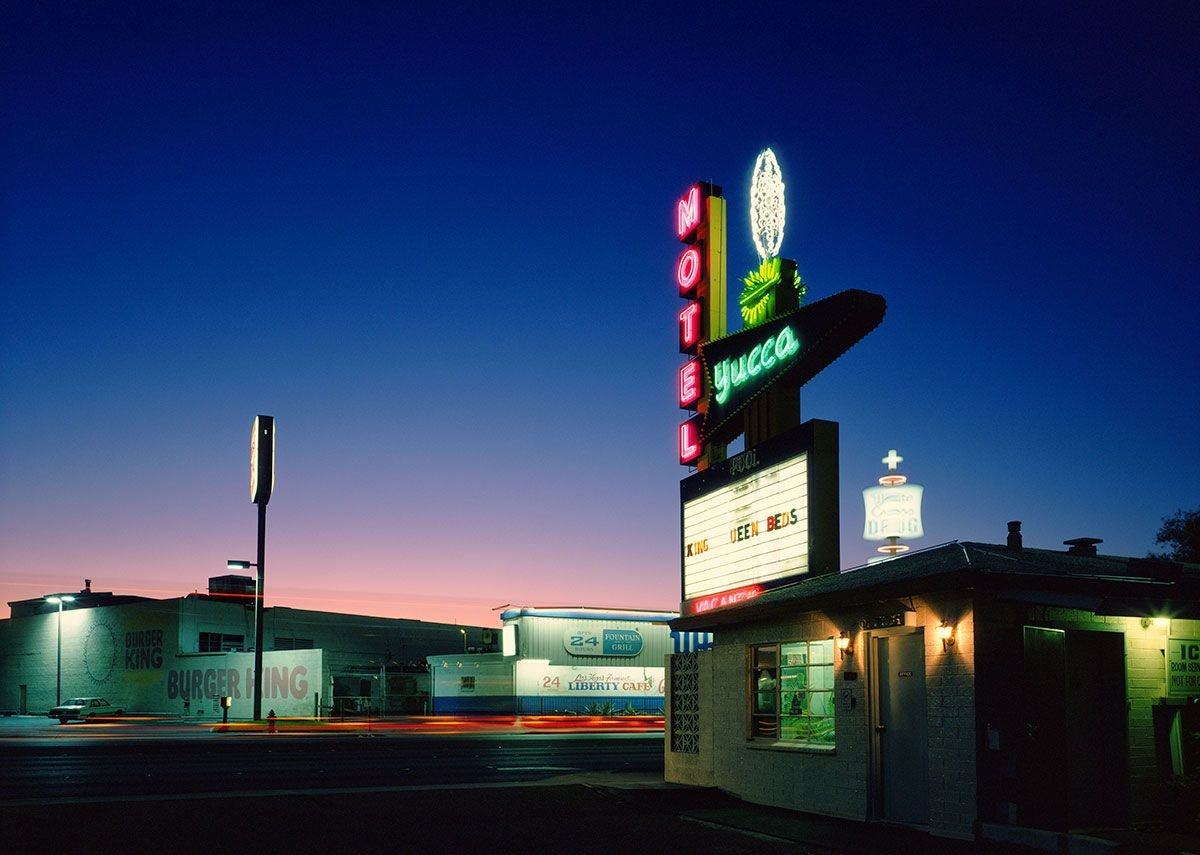 The Yucca Motel by Fred Sigman (1995), from the new book Motel Vegas.