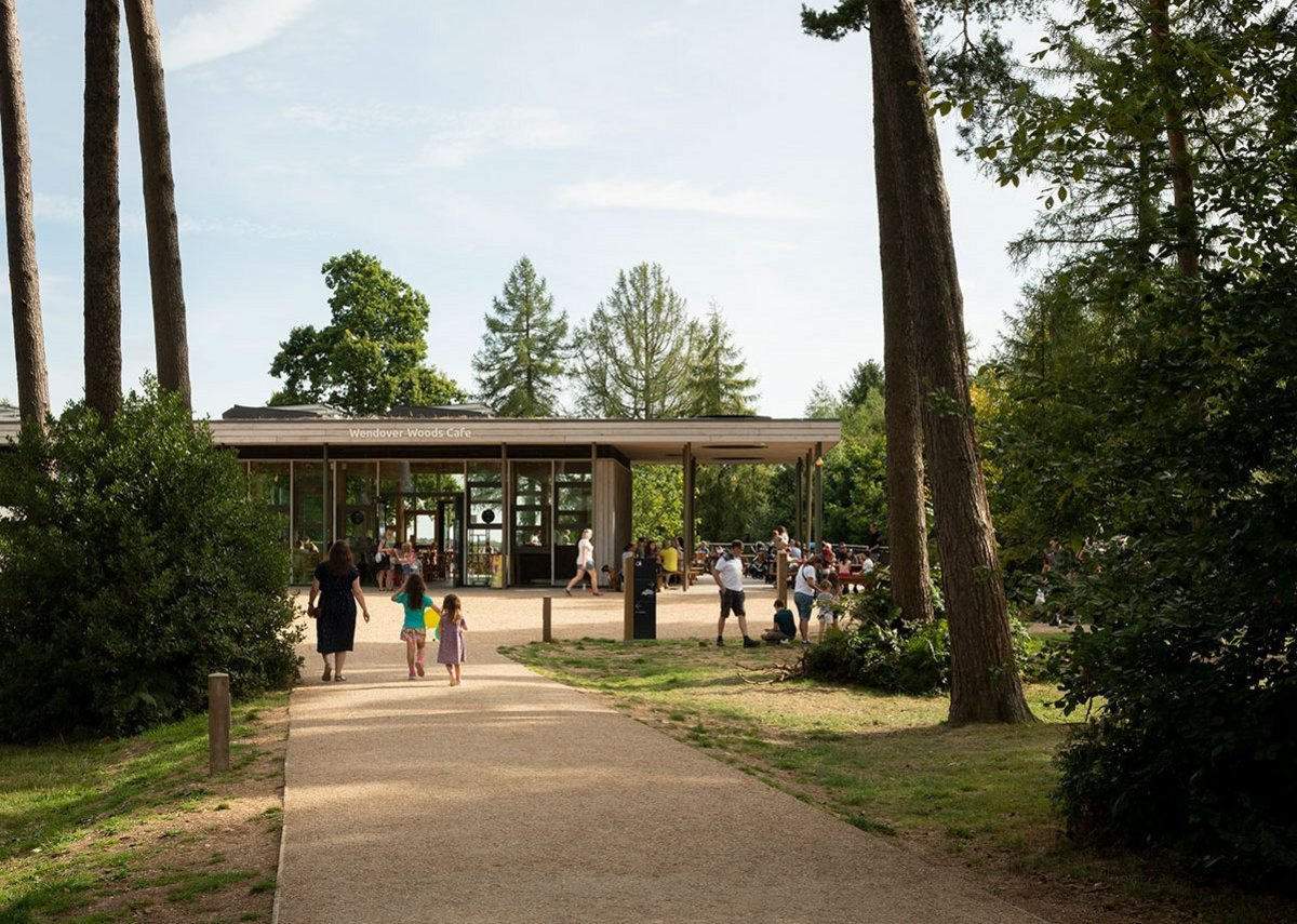 Wendover Woods Visitor Centre.
