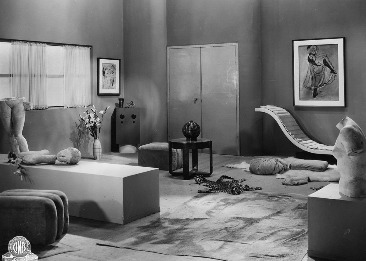 Carlo Levi and Enrico Paulucci. Set design for Patatrac (Dir. Gennaro Righelli, 1931) Gelatin silver print on paper, 17 x 23cm