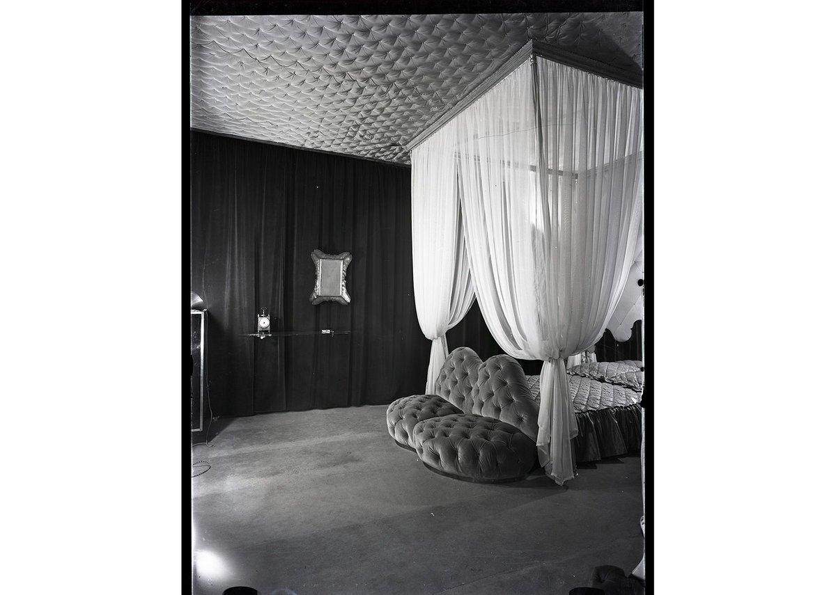 Devalle House, 1939-1940 by Carlo Mollino, Politecnico di Torino, Sezione Archivi della Biblioteca 'Roberto Gabetti'.