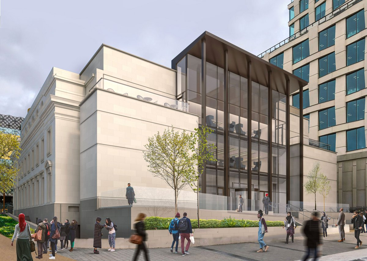 The Exchange, former Municipal Bank, 3 Centenary Square, executive architect Glancy Nicholls Architects, concept design Make Architects.