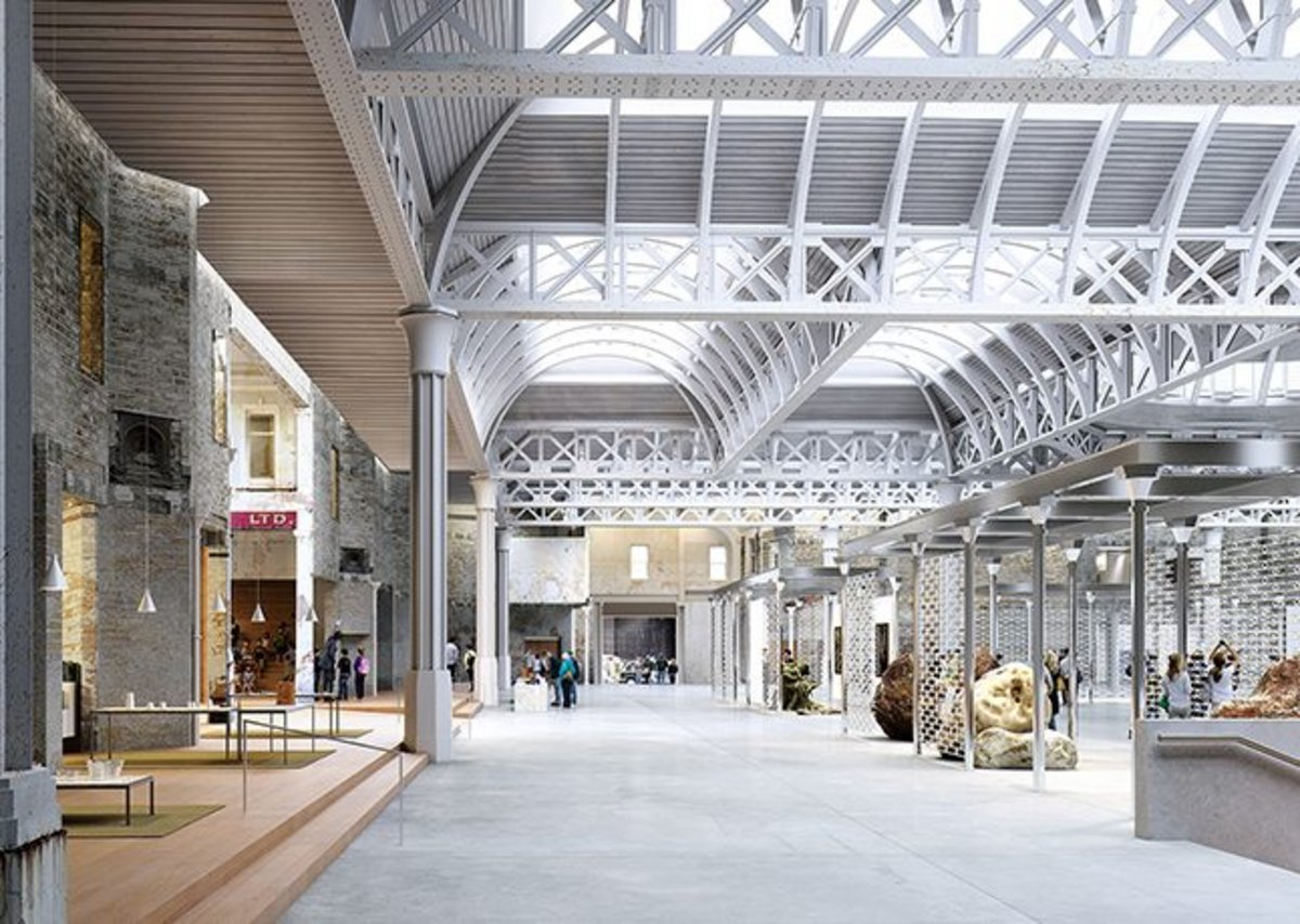 Museum of London by Stanton Williams, Julian Harrap Architects and Asif Khan.