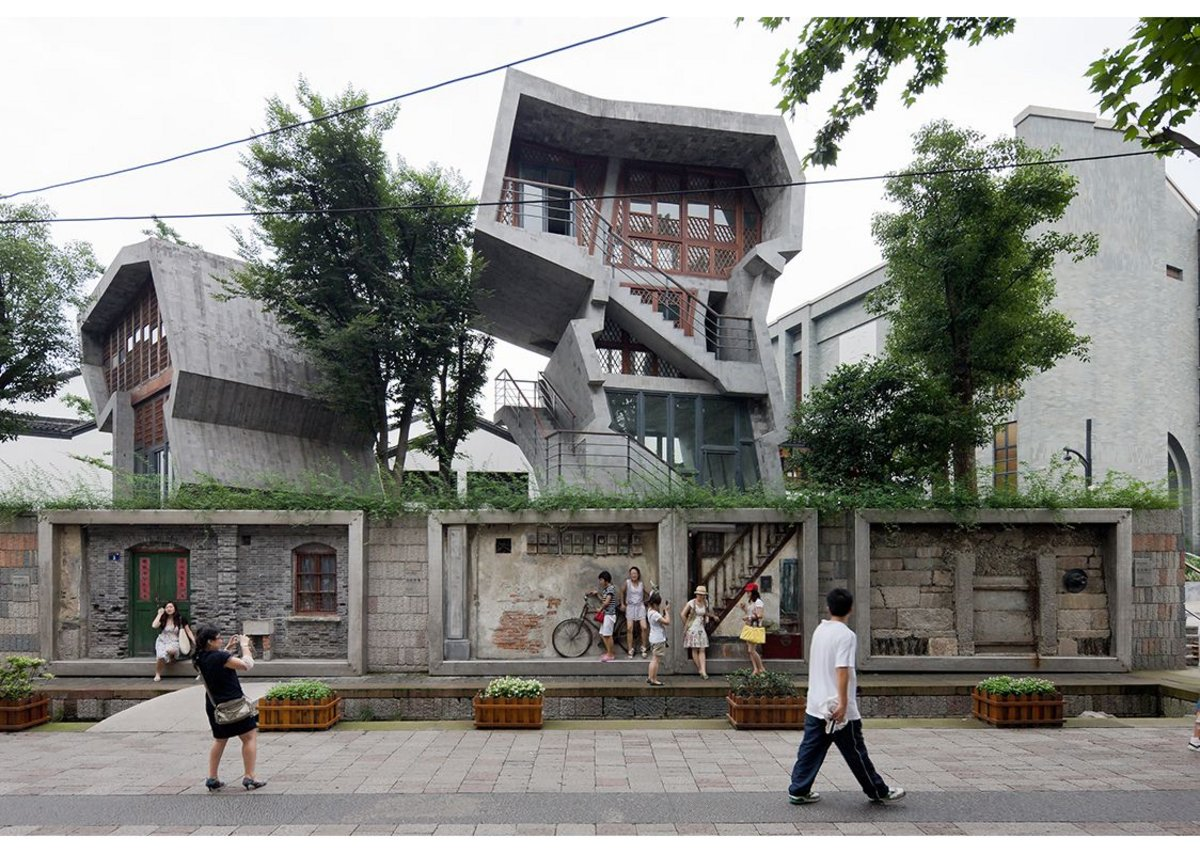 Zhongshan Road renovation project, Hangzhou, 2009 by Amateur Architecture Studio.