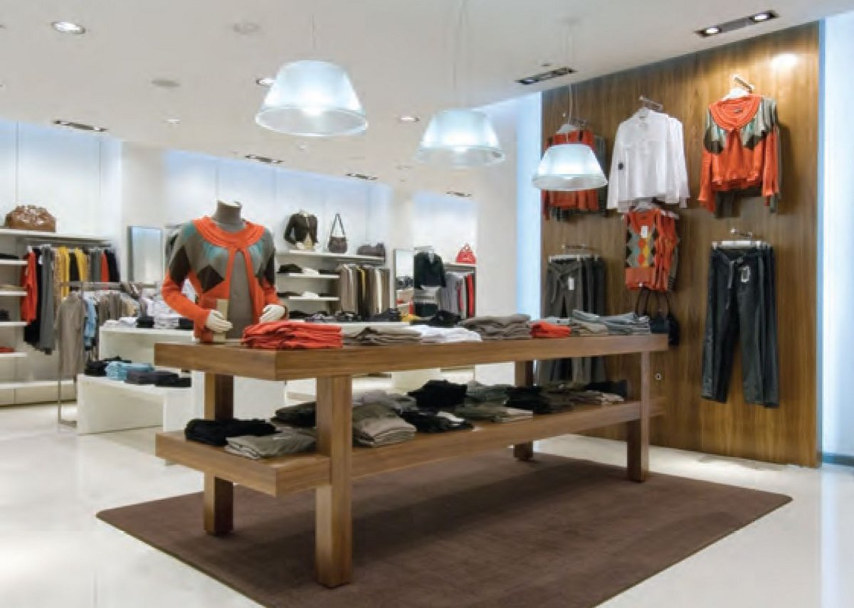 Acoustic plaster: Acoustic ceiling retail application