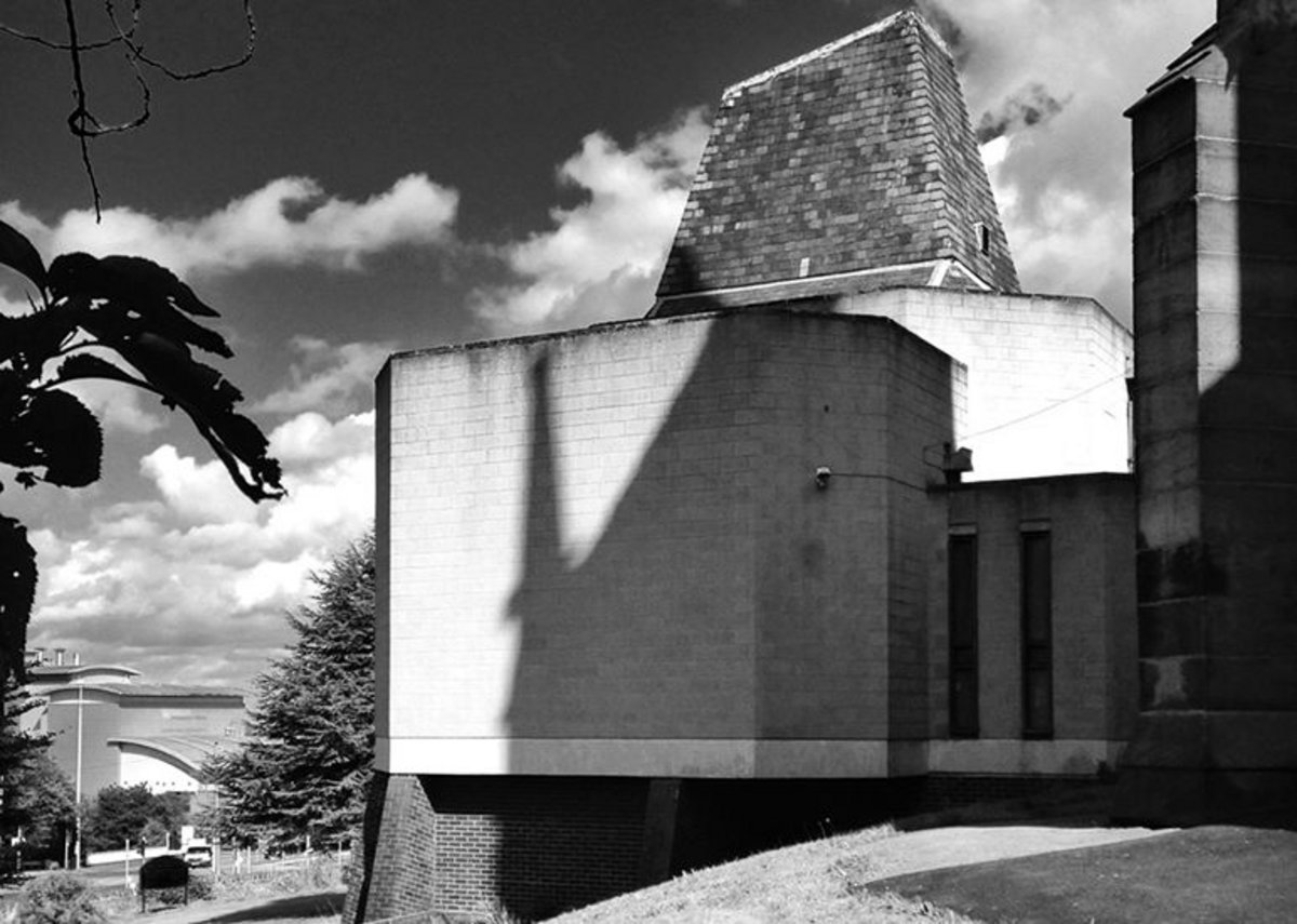 St Johns - Church hall extension, St John's Church, Hyde Park, Sheffield, by Ken Murta and Jum Hall, c1971