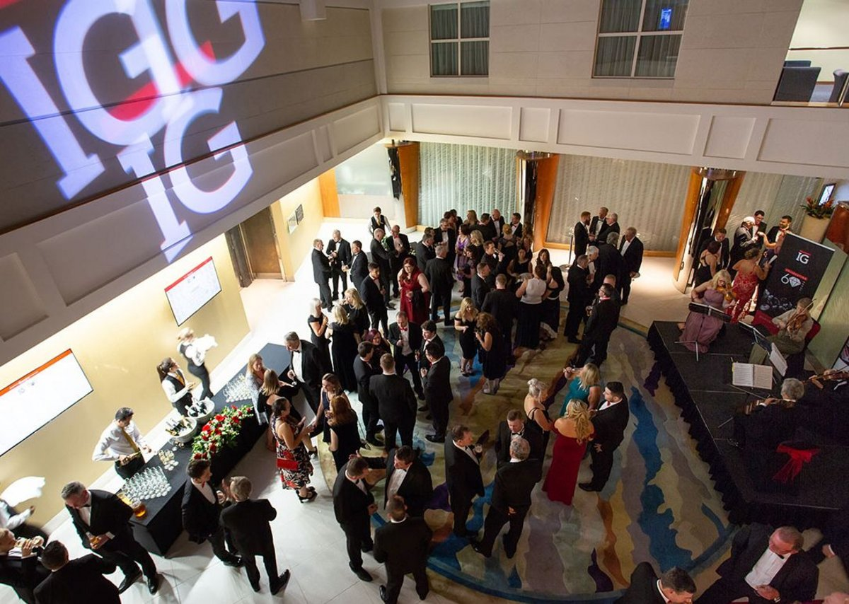 Earlier this year IG celebrated its diamond anniversary at the Hilton Cardiff hotel.