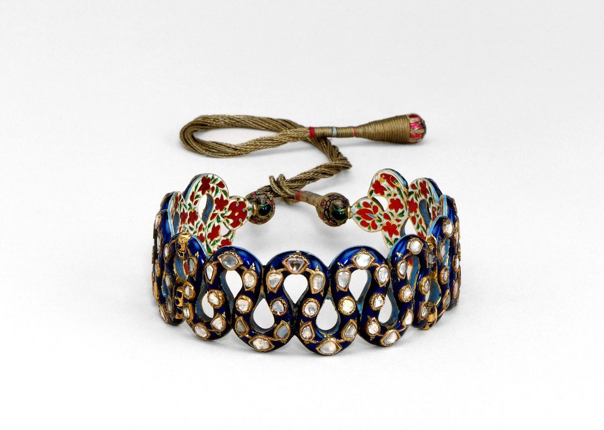 Bracelet shown at the Great Exhibition, made in Rajasthan, India, c1850.