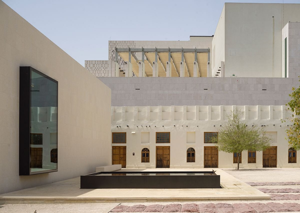 Msheireb Museums in Doha, designed by John McAslan + Partners.