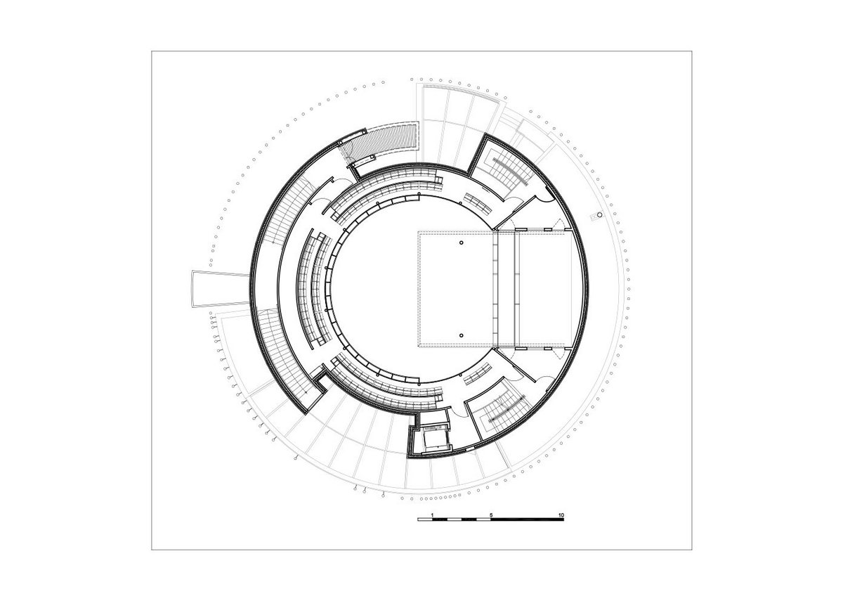 Hardelot 2nd balcony plan