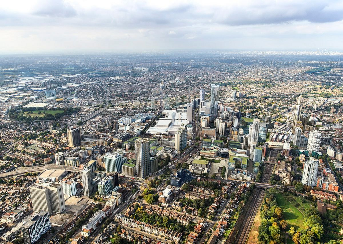 London's third city? This is how Croydon's centre is planned to look by 2020.