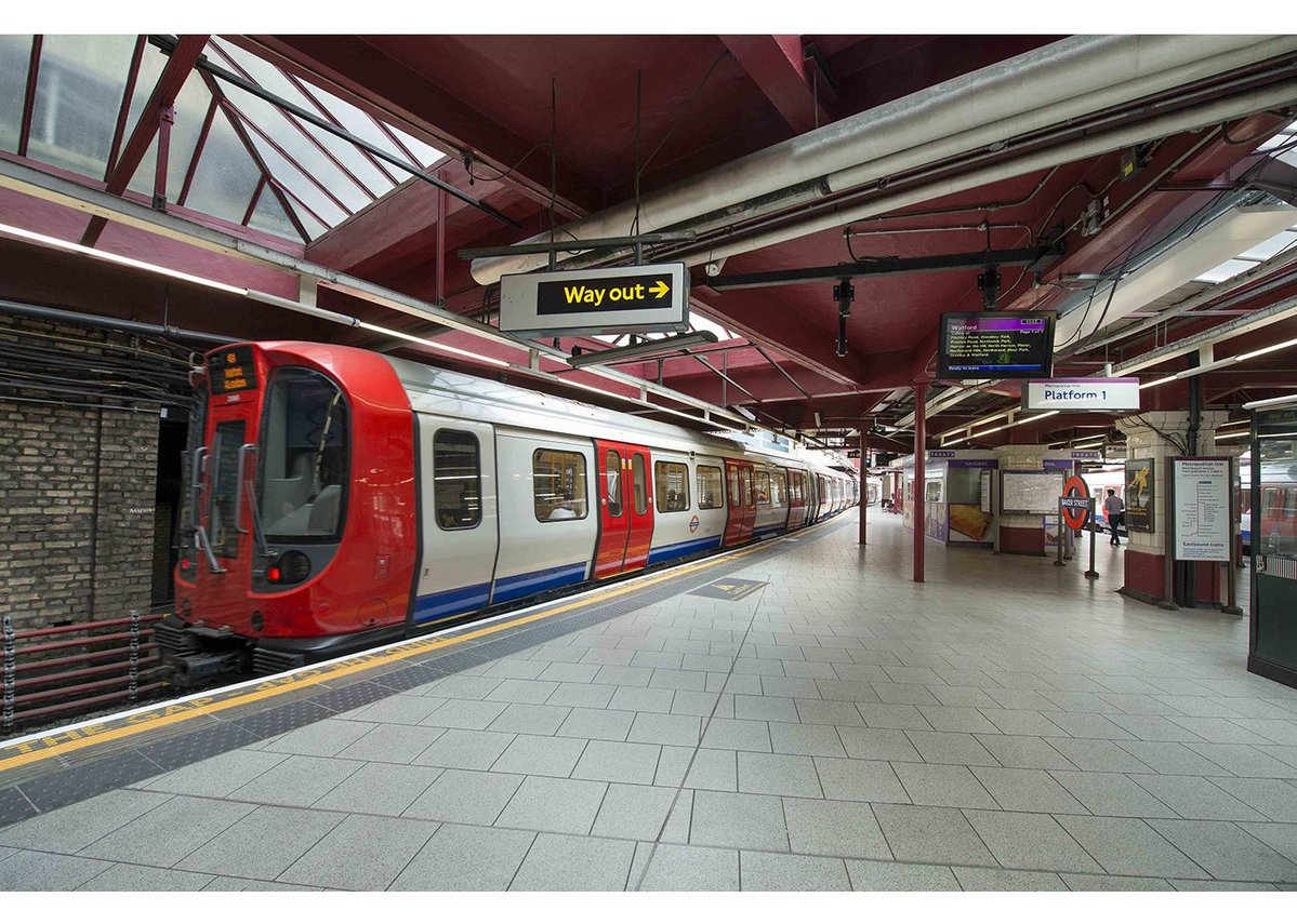 Baker Street Tube Station - FILA surface care solutions were specified for an extensive cleaning project, carried out by Cleshar.