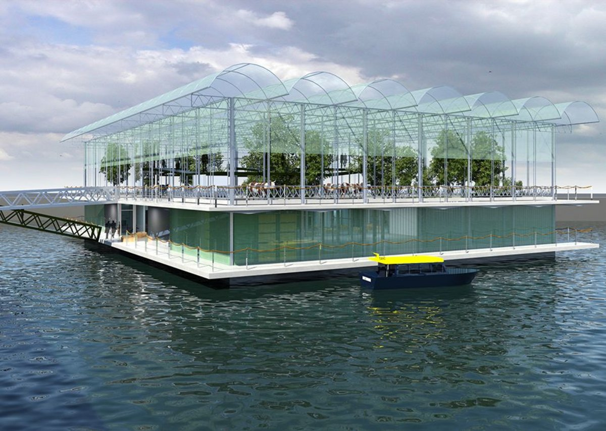 Floating Farm, developed by property development company Beladon BV, opens this spring in Rotterdam.