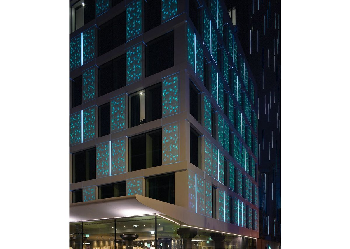 Motel One, London, by Mackay + Partners