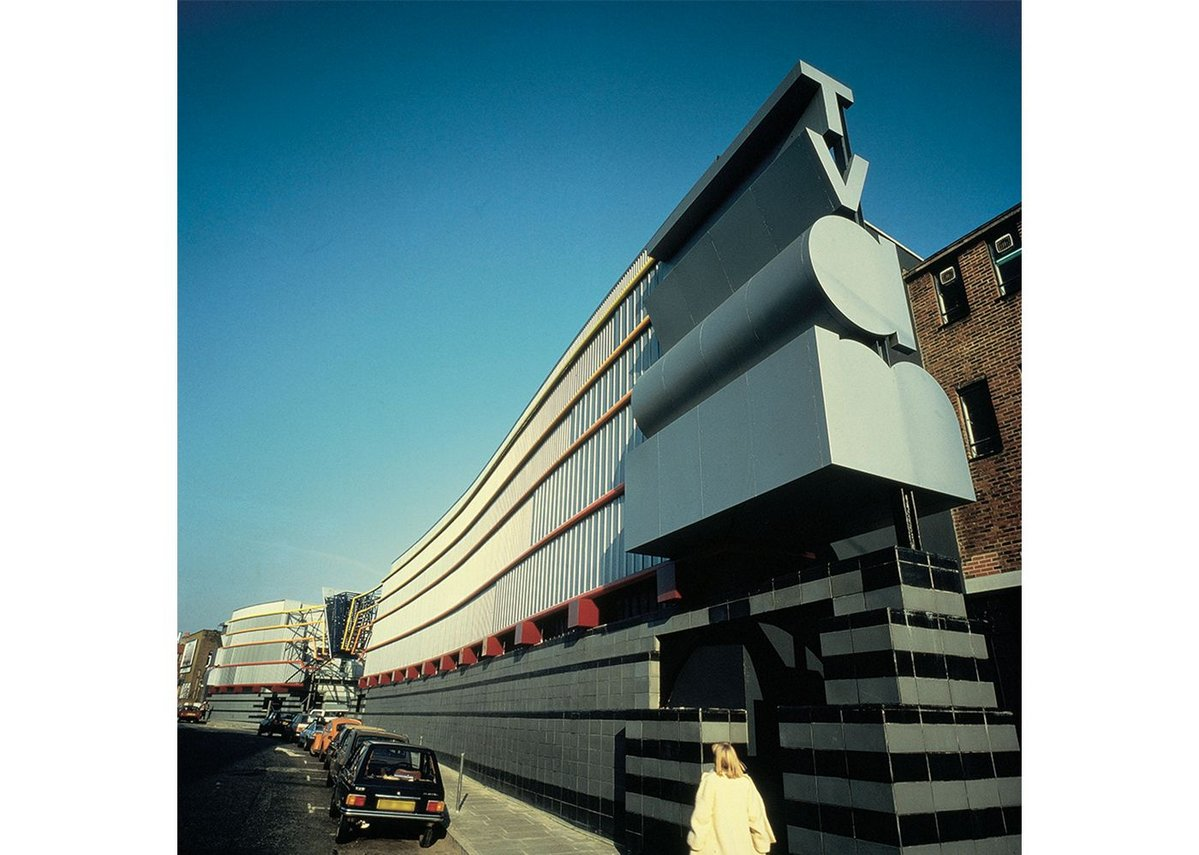 TVam, London. Terry Farrell, 1983.
