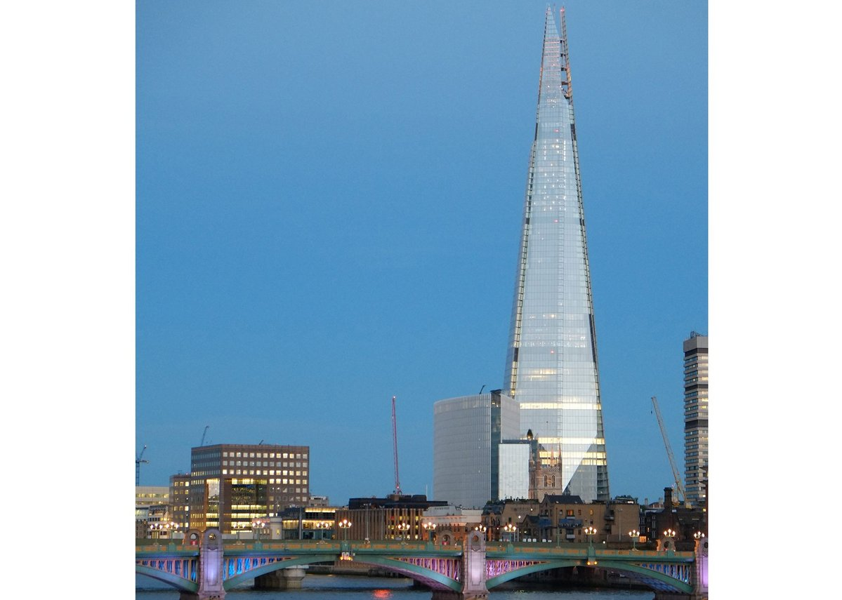 The Shard, London Bridge, by Renzo Piano Building Workshop.
