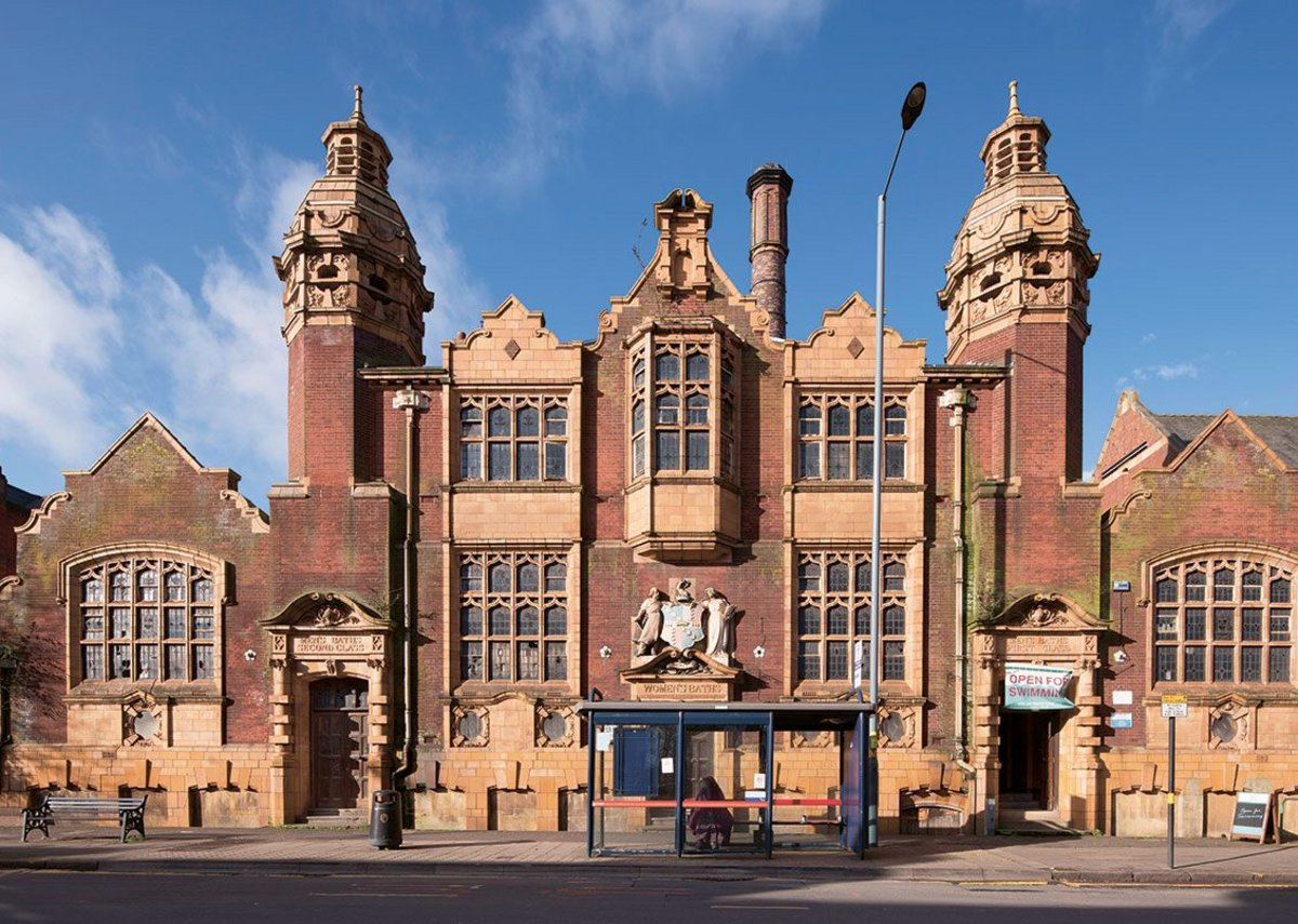 Moseley Road Baths, built in 1907.