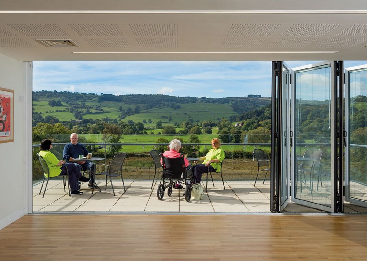 Not just the views – outside space is maximised too.