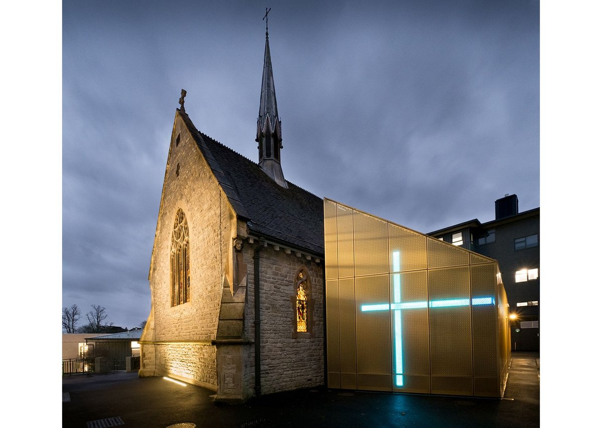University of Winchester Winton Chapel by Design Engine Architects.