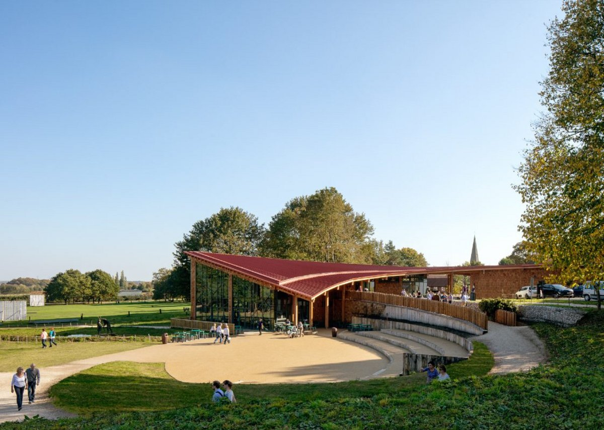 Sherwood Forest Visitor Centre, Edwinstowe.
