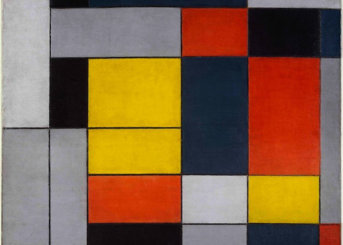 Piet Mondrian – No. VI Composition No.II.