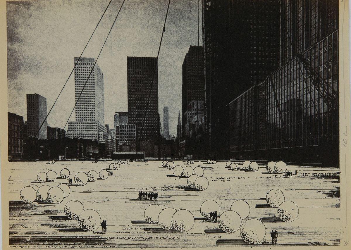 Ugo La Pietra, Immersione, 1969.