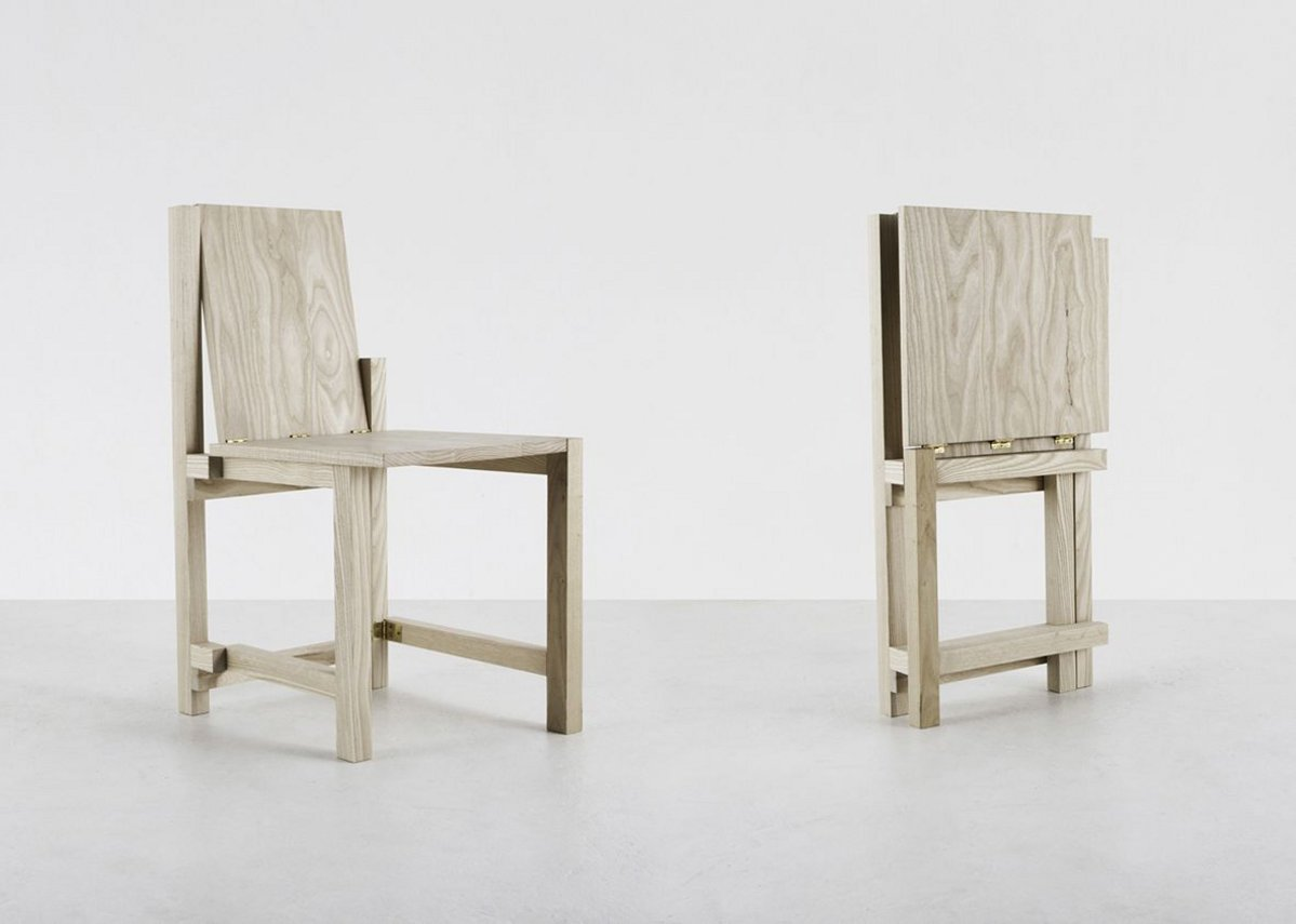 Folded Chair by NMHK Co Ltd.