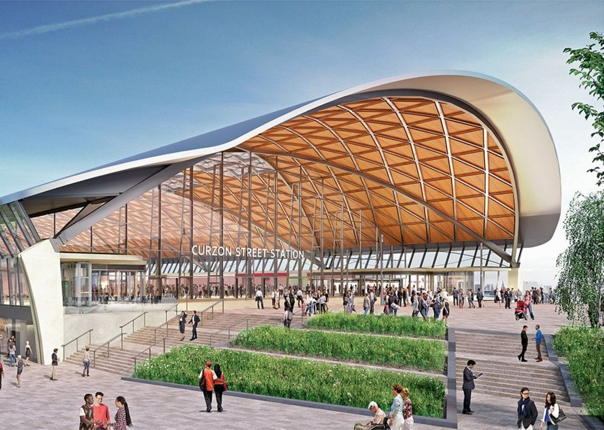 The new HS2 station sits in a development plan that links amenities and public transport up to Moor Street Station as well as Digbeth, which is rapidly turning into a creative district.